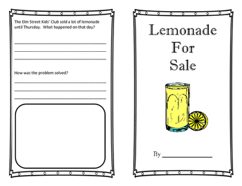 Lemonade for Sale - Activities