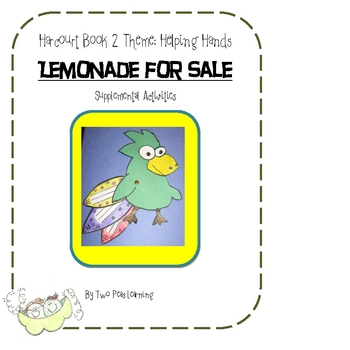 Lemonade for Sale Activities and Printables for Harcourt