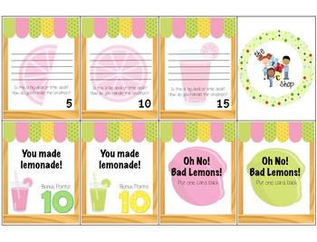 Lemons & Lemonade Problem Solving Game