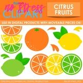 Lemons, Limes, And Oranges Clip Art (Digital Use Ok!)