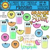 Lemons and Lemonade Clip Art FREEBIE