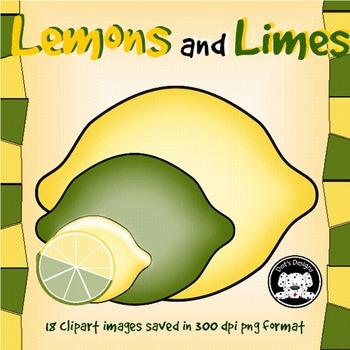 Lemons and Limes Clipart
