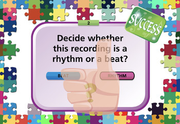 Lena's Rhythm And Beat Short Bite Music Interactive Tutorial And Quiz.