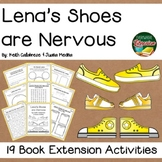 Lena's Shoes are Nervous by Calabrese 19 Book Extension Activities NO PREP