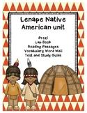 Lenape / Eastern Woodland Natives Unit of Study