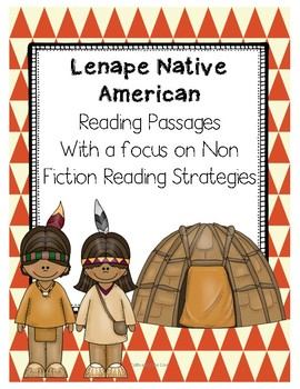 Lenape or Eastern Woodland Natives Cross Curricular Reading Passages