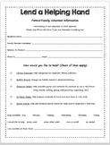 Lend a Helping Hand Form-editable!