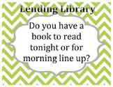 Lending Library Sign