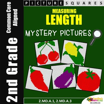Measuring Length Worksheets, Mystery Pictures