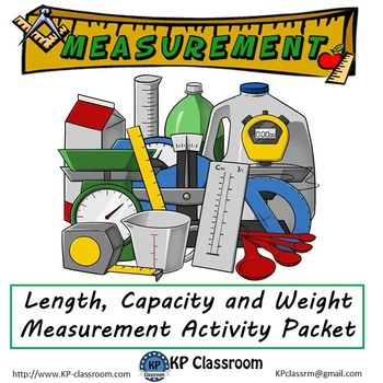 Measurement Length Capacity and Weight Activity Packet Pri