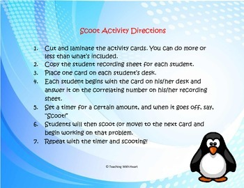 Length Conversion Word Problem Task Cards/Scoot Activity (Customary)