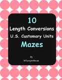 Length Conversions Maze - U.S. Customary Units