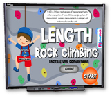 Length Conversions Rock Climbing SMART BOARD PROMETHEAN Game