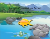 Length Conversions Scoot Activity/Task Cards (Metric System)