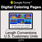 Length Conversions: U.S. Customary Units - Digital Colorin