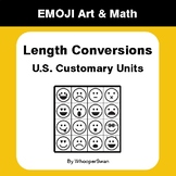 Length Conversions (U.S. Customary Units) - Emoji Art & Ma