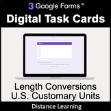 Length Conversions: U.S. Customary Units - Google Forms Ta