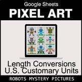 Length Conversions: U.S. Customary Units - Google Sheets P
