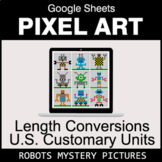 Length Conversions: U.S. Customary Units - Google Sheets P