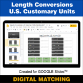 Length Conversions: U.S. Customary Units - Google Slides -