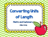 Length-Converting Measurements Task Cards