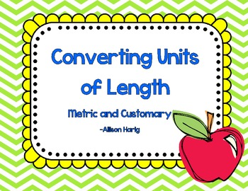 Length-Converting Measurements Task Cards