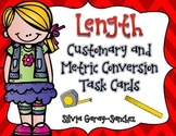 Length Customary and Metric Conversion Task Cards