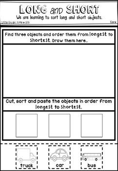 Length - Long & Short Sorting