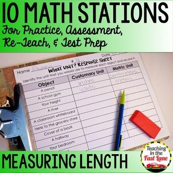 Length Math Stations