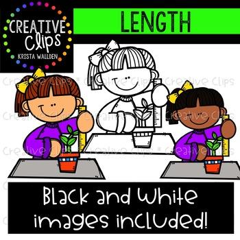 Length: Measurement Clipart {Creative Clips Clipart}