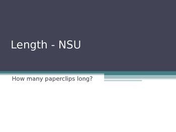 Length - Non Standard Units