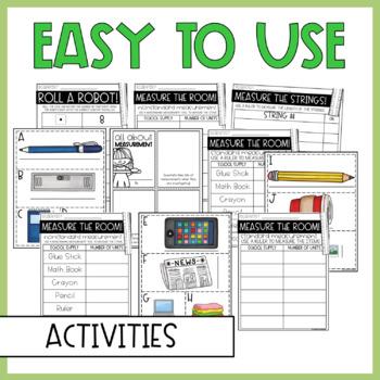 Standard and Nonstandard Measurement Interactive Notebook