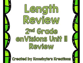 Length Review - Grade 2 enVisions Unit 11 Review