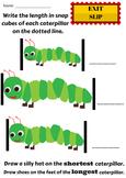 Length: Shortest - Shorter - Short || Longest- Longer - Long
