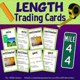 Length Vocabulary Trading Cards