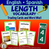 Length Trading Cards and Word Wall