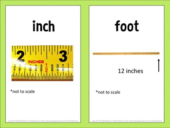 Length Vocabulary Word Wall