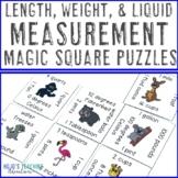 Measurement Activities   Length Weight & Liquids Math Center Games