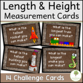 Length and Height Measurement STEM Challenge Cards