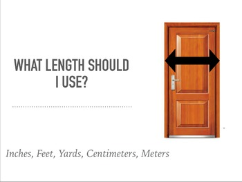 Length and Volume Measurement PowerPoint