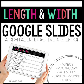 Length and Width Digital Resources