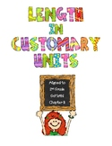 Length in Customary Units Bundle - 2nd Grade GoMath Chapter 8