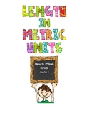 Length in Metric Units - 2nd Grade GoMath! Chapter 9