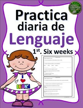 Lenguaje Diario - Primeras seis semanas
