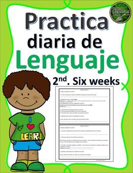 Lenguaje Diario - Segundas seis semanas