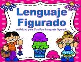 Lenguaje Figurado - Ice Cream Sorting Activity - SPANISH