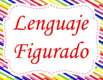 Lenguaje Figurado Posters - Figurative Language Posters in Spanish
