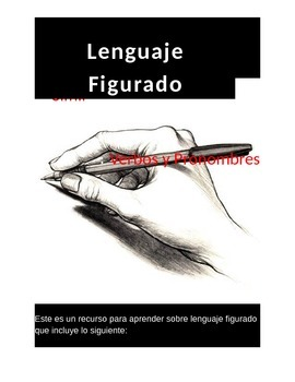 Lenguaje Figurado y mas