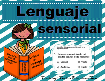 Lenguaje Sensorial - Poesia - Sensory Languaje - Spanish