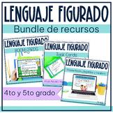 Lenguaje figurado   Spanish Figurative Language Bundle